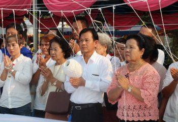 ชลบุรี – วัดใหม่ทรายมูลจัดงานมหาบุญยิ่งใหญ่พิธีเททองหล่อพระพระพุทธชินราช สมเด็จพระพุฒาจารย์โตพรหมรังสี หลวงปู่ทวด วัดช้างให้และวางศิลาฤกษ์ ศาลาทรงไทย (ชมคลิป)
