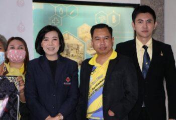"""สมาคมสหพันธ์แรงงานคนพิการไทย และศูนย์บริการโลหิตแห่งชาติสภากาชาดไทย จับมือร่วมกัน จัดโครงการ """"คนพิการ ๙ โลหิต ถวายเป็นพระราชกุศล ร.๙"""" เนื่องในวันคล้ายวันสวรรคต   (ชมคลิป)"""